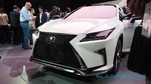 new lexus 2016 this is the 2016 lexus rx slashgear