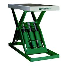 southworth products ls series hydraulic lift tables