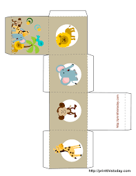 printable templates baby shower free printable baby shower favor boxes templates