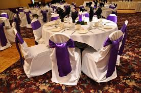 Purple Chair Sashes Chair Affair Calgary Chair Covers Gallery