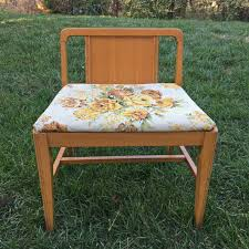 Antique Vanity Chairs Makeovermonday 1950s Vintage Vanity Stool Makeover U2013 The Daily Starr