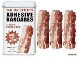 Bacon Strips And Bacon Strips Meme - bacon strips adhesive bandages 15 die cut sterile strips free toy