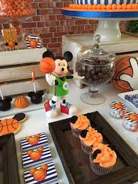 basketball party ideas mickey mouse birthday party ideas basketball birthday