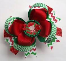 christmas hair bows baby christmas bows hair for by ransomletterhandmade