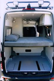 Sprinter Dimensions Interior Sportsmobile Custom Camper Vans Photographers