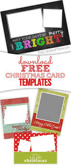 photo insert christmas cards best 25 free christmas card templates ideas on letter