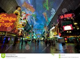 Fremont Street Las Vegas Map by Fremont Street Las Vegas Nevada Editorial Stock Photo Image