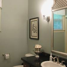 blue gray bathroom colors lovely best olympic paint color in real