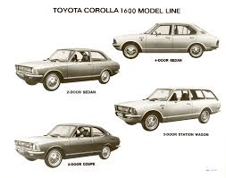 year toyota corolla toyota corolla models by year toyota corolla specifications and