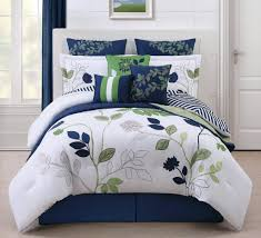 Pottery Barn White Comforter Navy And White Bedding Vnproweb Decoration