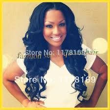 black hair weave part in the middle instock long black middle part wavy cheap u part wig brazilian sew