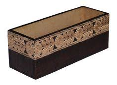 bulk wholesale long rectangular 14x5x4 u201d wooden planter for