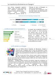 chambre de commerce espagnole en nouveau dossier 2014 le marché du ecommerce en espagne