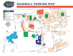 Gainesville Map Parking Information For 2015 Ncaa Gainesville Baseball Super