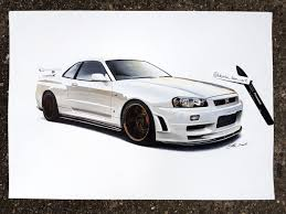 r34 nissan skyline r34 gt r darko iker draw to drive