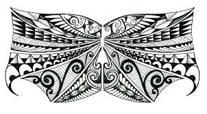 tribal polynesian chest design by thehoundofulster on