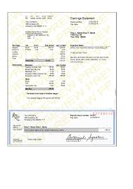 Check Stub Template For Excel Modern Pay Stub Sle Paycheck Stub Com