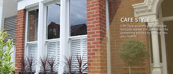 cafe style plantation shutters cheshire