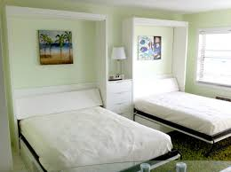 Small Bedroom Big Bed Bedroom Have Much Free Space With Cool Murphy Bed Designs