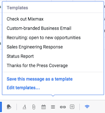 finally support for tables in gmail mixmax