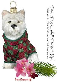 european glass christmas ornaments diva dogs bumblegums