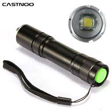 2200lm cree xml t6 led zoomable 18650 flashlight torch lamp