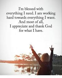 Blessed Meme - i m blessed with everything i need i am working hard towards
