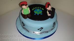 cakes u0026 mirfield cakes kids music birthday cake for a