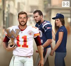 Alex Smith Meme - bleacher report on twitter the only time tom brady has ever been