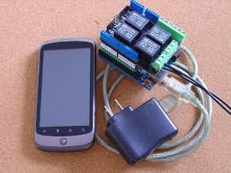 android controlled lights and power pfoddevice for arduino 3 steps