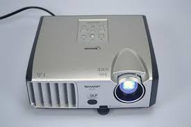 sharp home theater projector sharp notevision xr 30s dlp projector 2300 lumens 2055 lamp hours