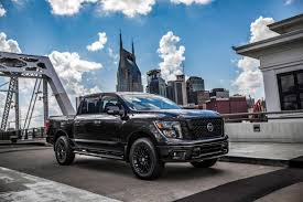 nissan new for nissan 2018 nissan titan midnight edition trucks