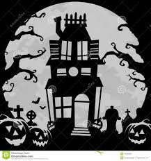 haunted mansion clipart haunted house background stock vector image 44300822