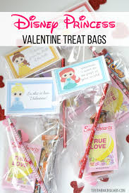 disney princess valentine treat bags the farm gabs