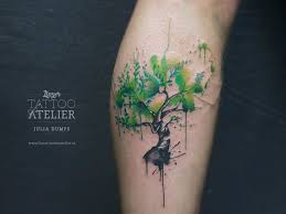 watercolor tree search tattoos
