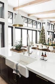 34 beautiful modern farmhouse kitchen sink designs modern
