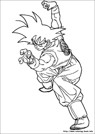 dragon ball coloring picture lineart dragon ball