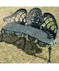 buy aluminium garden furniture outdoor bench