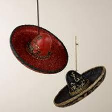ornament sombrero hat home page