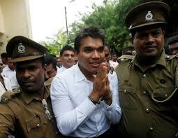 Namal Rajapaksa Sri Lanka Arrests Son Of Former Leader Rajapaksa Reuters