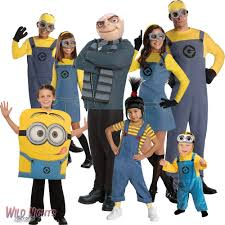 fancy dress costume despicable me boys girls character