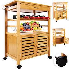 servierwagen küche kesser bambus küchenwagen küchenschrank beistellwagen servierwagen