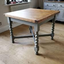 antique draw leaf table vintage oak barley twist draw leaf table antique extending table