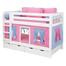 terrific girls bunk beds childrens plus girls bunk beds designs