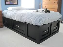 black twin storage bed with bookcase headboard white size projects