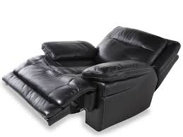 Power Sofa Recliners Leather by Simon Li Leather Shining Tips Midnight Power Recliner Mathis