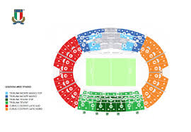 ingresso tribuna monte mario six nations chionship 2018 air