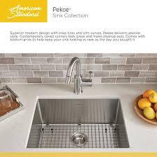 american standard pekoe kitchen faucet faucet 18sb 10231800 075 in stainless steel by american standard