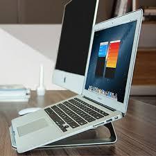 apple bureau ordinateur portable en aluminium support de bureau dock support