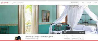 airbnb expands presence in cuba